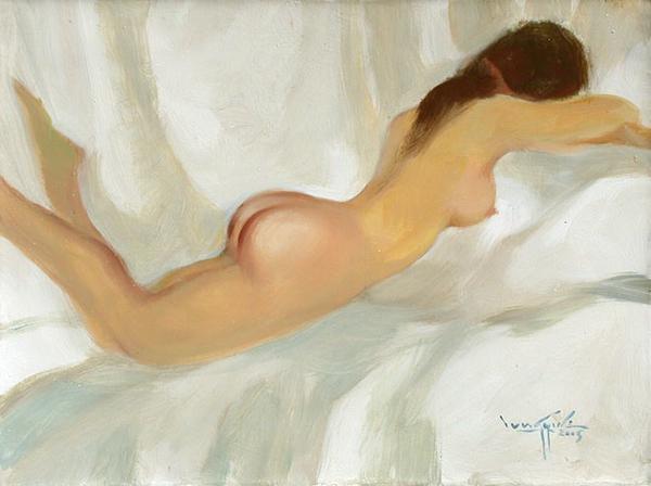 Artist: U Lun Gywe  Title: Nude III